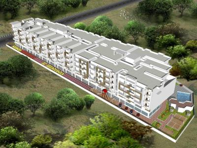 Gallery Cover Image of 1215 Sq.ft 1 BHK Apartment for buy in Venkateshwara SV Elegant, Krishnarajapura for 5000000