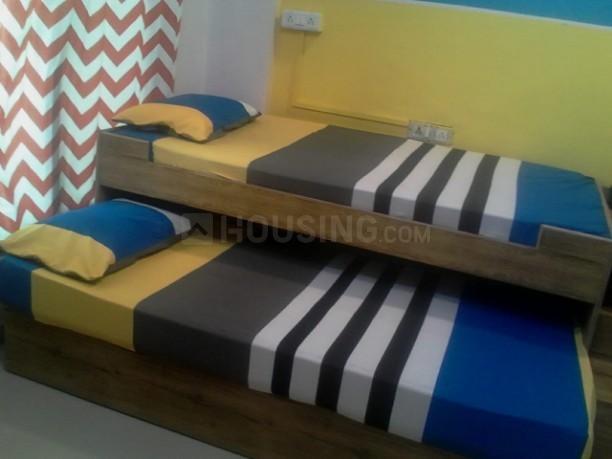 नेरुल में शिवम पीजी में बेडरूम की तस्वीर