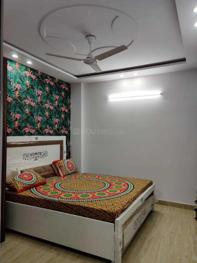 Bedroom Image of 648 Sq.ft 2 BHK Independent Floor for rent in Sector 19 Dwarka for 25500