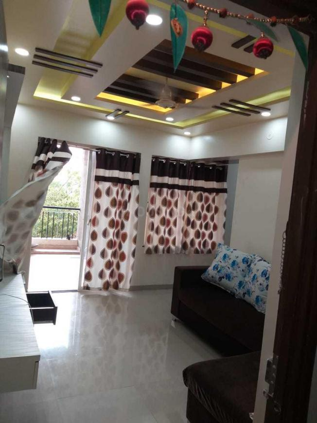 Living Room Image of 850 Sq.ft 2 BHK Apartment for rent in Wagholi for 20000