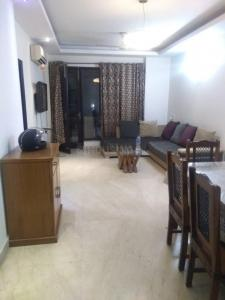 Gallery Cover Image of 1800 Sq.ft 3 BHK Independent Floor for rent in Defence Colony for 70000
