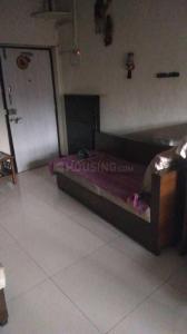 बेलापुर सीबीडी में राजपूत गर्ल्स पीजी में बेडरूम की तस्वीर