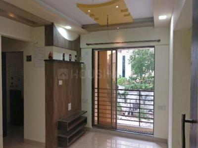 Gallery Cover Image of 700 Sq.ft 1 BHK Apartment for buy in Sukur Sapphire Phase I, Kasarvadavali, Thane West for 4850000