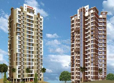 Gallery Cover Image of 455 Sq.ft 1 RK Apartment for rent in Haware Dahlia Bldg A D And E, Kasarvadavali, Thane West for 9500