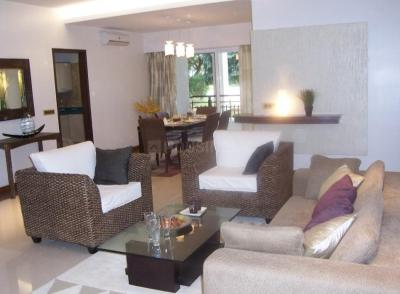 Gallery Cover Image of 2400 Sq.ft 3 BHK Apartment for rent in Godrej Woodsman Estate, Hebbal Kempapura for 45000