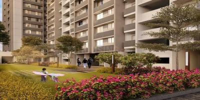 Gallery Cover Image of 1550 Sq.ft 3 BHK Apartment for buy in Buildwise Saanvi Nirman Estella, Ghuma for 4700000
