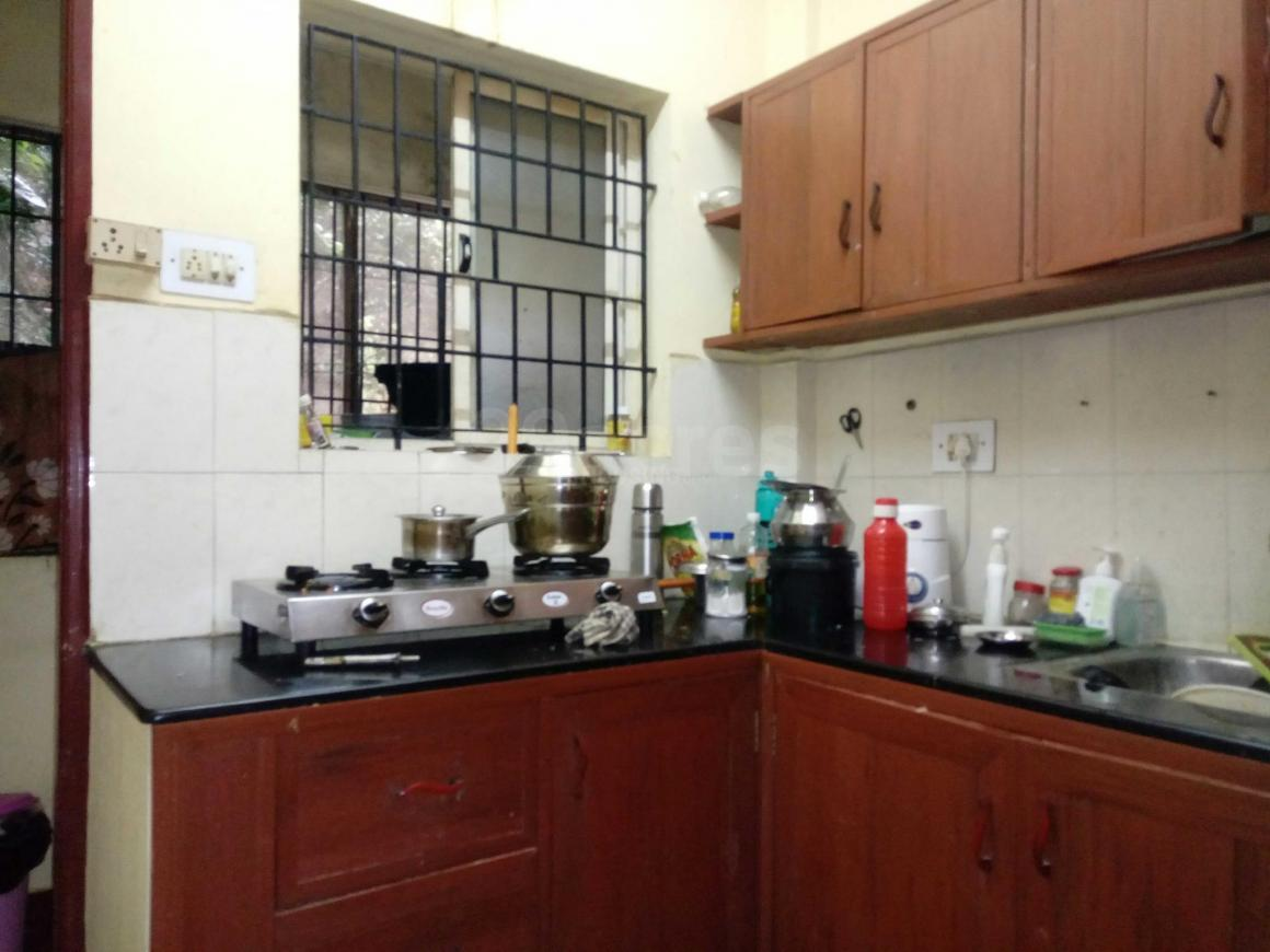 Kitchen Image of 750 Sq.ft 1 BHK Independent House for rent in Banashankari for 9000