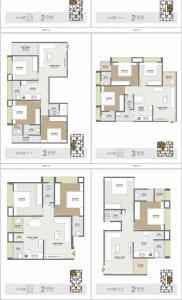 Gallery Cover Image of 1539 Sq.ft 3 BHK Apartment for buy in Nikol for 4825000