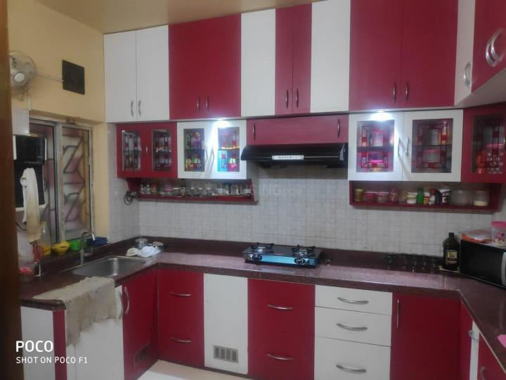 Kitchen Image of 1450 Sq.ft 3 BHK Independent Floor for rent in New Town for 30000