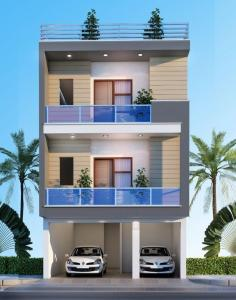 Gallery Cover Image of 1200 Sq.ft 2 BHK Independent Floor for buy in Crossings Republik for 3000000