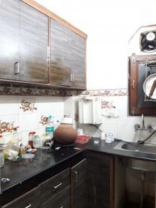 रणजीत नगर में तेरा पीजी के किचन की तस्वीर