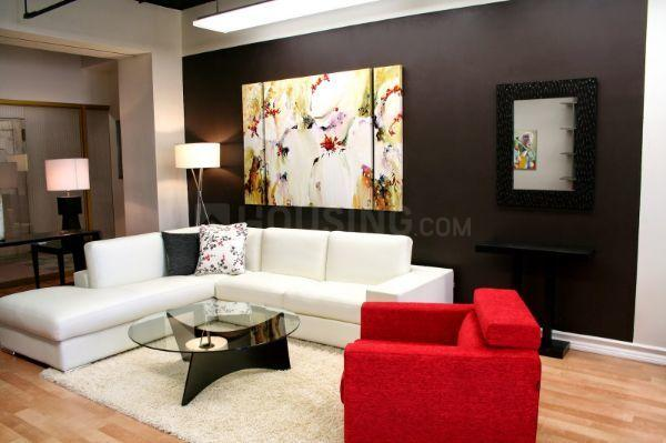Living Room Image of 645 Sq.ft 1 BHK Apartment for rent in Kamothe for 9500