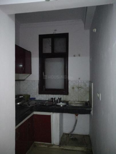 Kitchen Image of Akashna Hostel in Lado Sarai