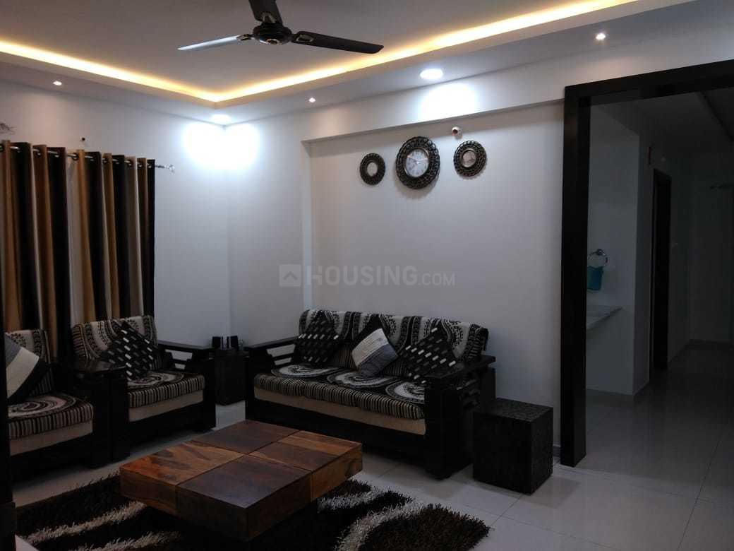 Living Room Image of 1856 Sq.ft 3 BHK Apartment for rent in Kothaguda for 36000