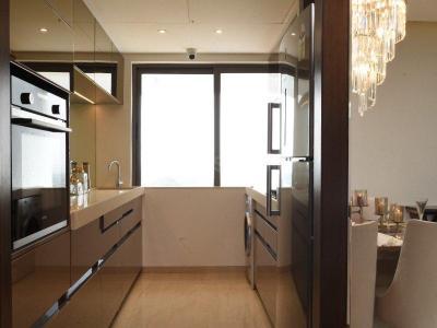 सुनटेक सिग्निया वाटरफ्रंट, ऐरोली  में 16400000  खरीदें  के लिए 899 Sq.ft 2 BHK अपार्टमेंट के किचन  की तस्वीर