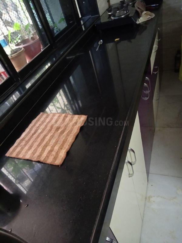 Kitchen Image of 600 Sq.ft 1 BHK Apartment for rent in Andheri East for 35000