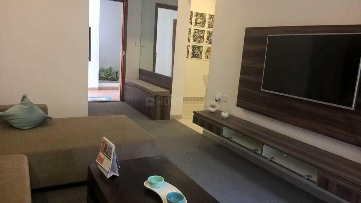 Living Room Image of 825 Sq.ft 1 BHK Apartment for buy in Choodasandra for 3795000
