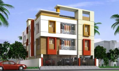 Gallery Cover Image of 1253 Sq.ft 3 BHK Apartment for buy in  South kolathur for 7016800