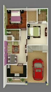 Gallery Cover Image of 600 Sq.ft 1 BHK Villa for buy in Rohania for 2700000