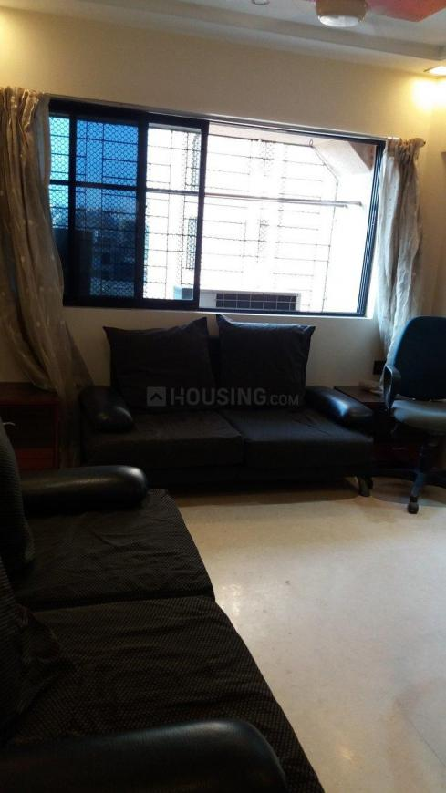 Living Room Image of 645 Sq.ft 1 BHK Apartment for rent in Powai for 37000