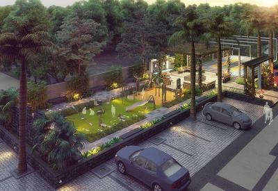 Gallery Cover Image of 1130 Sq.ft 3 BHK Apartment for buy in Mangalam Breeze, Alandi for 4655000