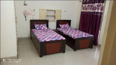 Bedroom Image of Chitra Girls PG in Sector 27