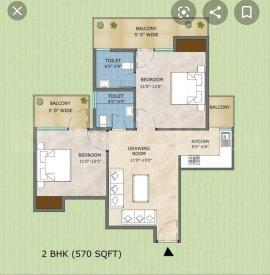 Gallery Cover Image of 850 Sq.ft 2 BHK Apartment for buy in Sarvome Shree Homes, Sector 45 for 2850000