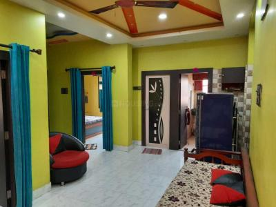Gallery Cover Image of 759 Sq.ft 2 BHK Independent Floor for rent in Ambe Plaza, Dakshineswar for 15000