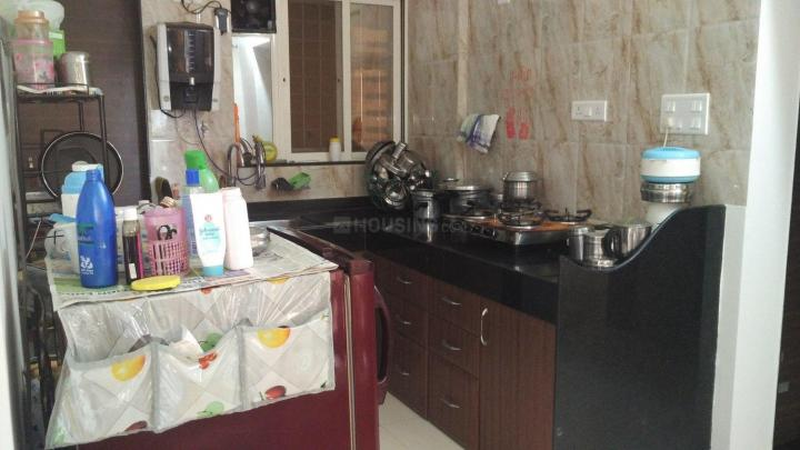 Kitchen Image of 700 Sq.ft 1 BHK Apartment for rent in Wakad for 16500