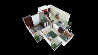 Gallery Cover Image of 1351 Sq.ft 3 BHK Apartment for buy in Shree Sai City, Harhua for 5500000