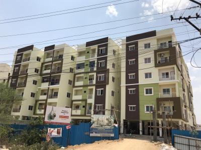 Gallery Cover Image of 1050 Sq.ft 2 BHK Apartment for buy in Kousthuba Residency, Gajularamaram for 4410000
