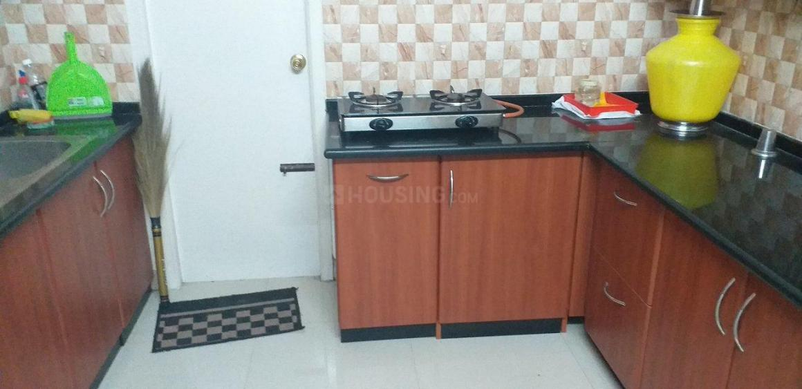 Kitchen Image of 1300 Sq.ft 3 BHK Apartment for rent in Velachery for 18000