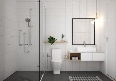 Bathroom Image of 1653 Sq.ft 3 BHK Apartment for buy in Alliance Galleria Residences, Old Pallavaram for 12000000