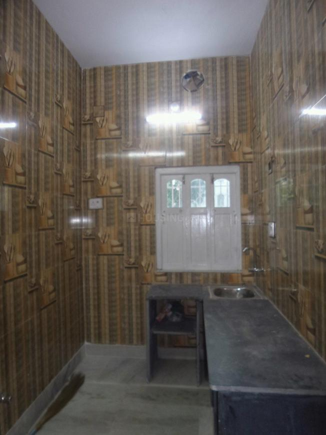 Kitchen Image of 600 Sq.ft 2 RK Independent House for rent in Shibpur for 8500
