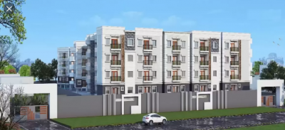 Gallery Cover Image of 1117 Sq.ft 2 BHK Apartment for buy in Elegant Exquisite, RR Nagar for 5305000