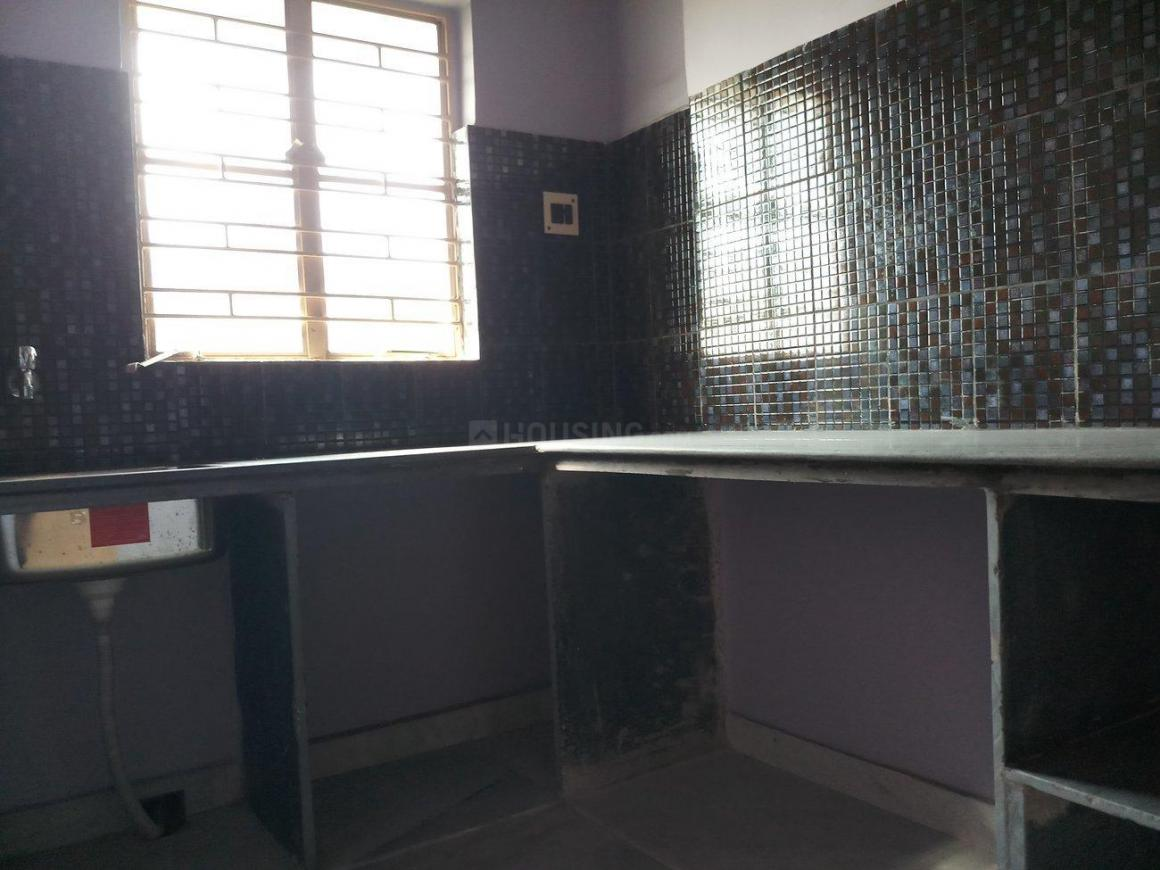 Kitchen Image of 600 Sq.ft 1 BHK Independent House for rent in Baghajatin for 6500