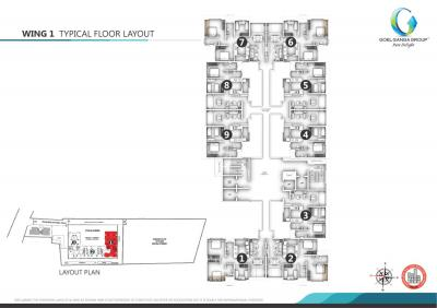 Gallery Cover Image of 974 Sq.ft 2 BHK Apartment for buy in Shanti Mohan Ganga Asmi, Wakad for 5600000