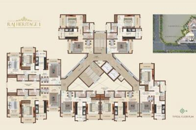 Gallery Cover Image of 1070 Sq.ft 2 BHK Apartment for buy in Raj Heritage 1, Mira Road East for 8560000