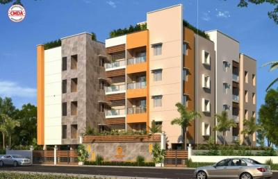 Gallery Cover Image of 840 Sq.ft 2 BHK Apartment for buy in Diamond, Kil Ayanambakkam for 4661160