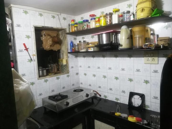 अंधेरी ईस्ट में डिलक्स पीजी सर्विस. के किचन की तस्वीर