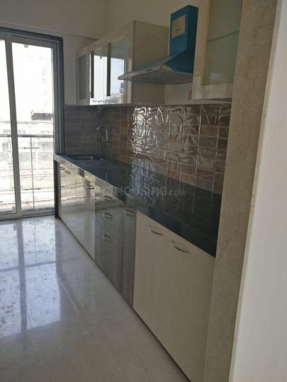 Kitchen Image of 1200 Sq.ft 2 BHK Apartment for rent in Kopar Khairane for 30000