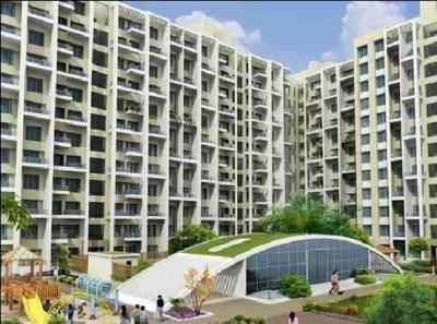 Gallery Cover Image of 650 Sq.ft 1 BHK Independent House for rent in Darode Westside County, Pimple Gurav for 7500
