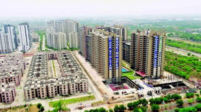 Gallery Cover Image of 1300 Sq.ft 3 BHK Apartment for buy in Gaursons Hi Tech Atulyam Phase 1, Omicron I Greater Noida for 4700000