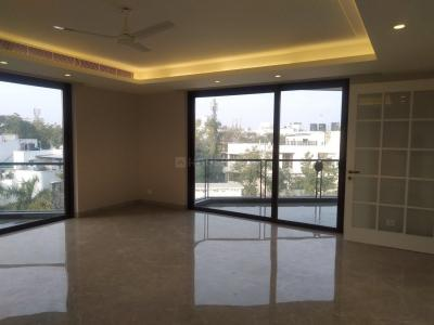 Gallery Cover Image of 4500 Sq.ft 4 BHK Independent Floor for rent in Nizamuddin East for 300000
