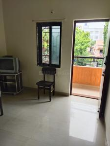 Gallery Cover Image of 650 Sq.ft 1 BHK Apartment for rent in Ramesh Hermes Paras, Kalyani Nagar for 14000