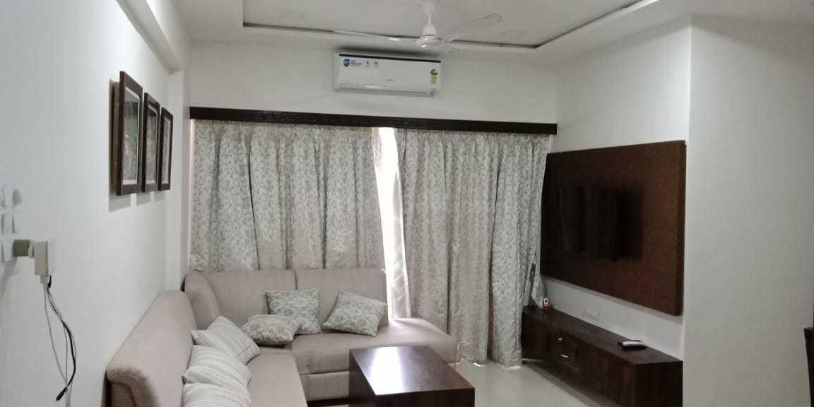 Living Room Image of 1053 Sq.ft 2 BHK Apartment for rent in Vadgaon for 30000