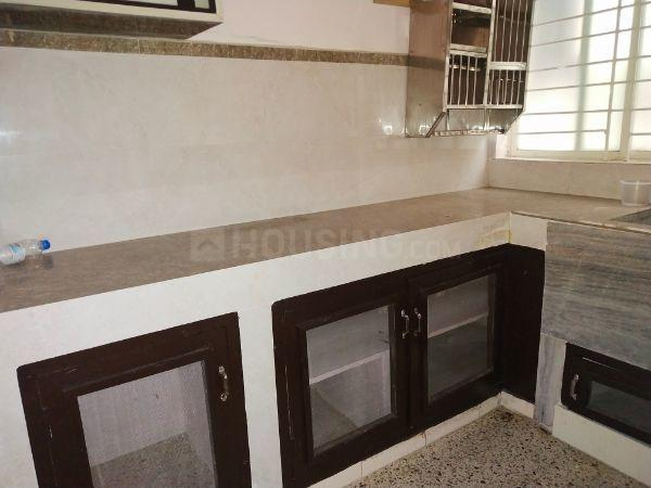 Kitchen Image of 950 Sq.ft 1 BHK Apartment for rent in Punjagutta for 17000