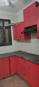 Kitchen Image of 900 Sq.ft 2 BHK Independent Floor for buy in Neb Sarai for 2500000