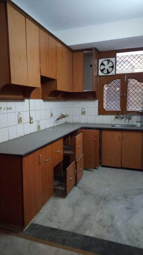 Kitchen Image of 1350 Sq.ft 3 BHK Independent Floor for buy in Nai Basti Dundahera for 5200000