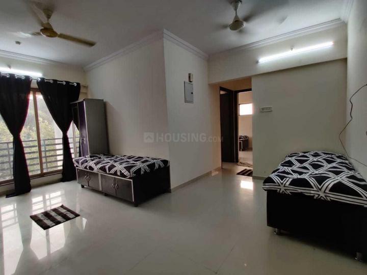 कांदिवली ईस्ट में ओम साई पेइंग गेस्ट में लिविंग रूम की तस्वीर